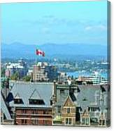 Inner Harbour As Seen  Via Marriot Window Canvas Print