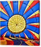 Inside A Hot Air Balloon Canvas Print