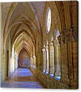 Inside A Monastery  Canvas Print