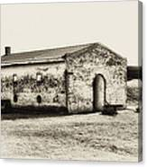 Inside Fort Mifflin - Phildalphia Canvas Print