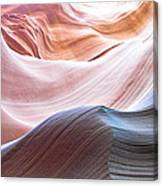 Inside Lower Antelope Canyon Canvas Print