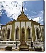 Inside The Grand Palace Bangkok Image 2 Canvas Print