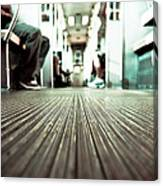 Inside The L At A Low Angle Canvas Print