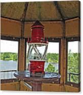 Inside The Lighthouse Tower #3. Uostadvaris. Lithuania. Canvas Print
