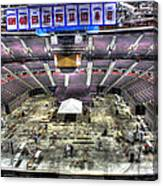 Inside The Palace Of Auburn Hills 2 Canvas Print