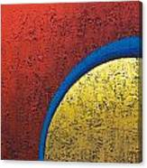 Inside Yellow  Canvas Print