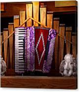 Instrument - Accordian - The Accordian Organ  Canvas Print
