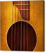 Instrument - Guitar - Let's Play Some Music  Canvas Print