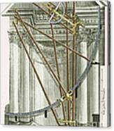 Instruments From A Viennese Observatory Canvas Print
