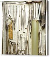 Instruments Used In Orthopedic Surgery Canvas Print