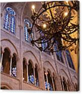 Interior Notre Dame Cathedral Canvas Print