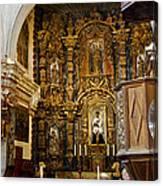 Interior San Xavier Mission Canvas Print