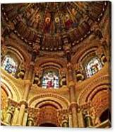 Interiors Of A Cathedral, St. Finbarrs Canvas Print
