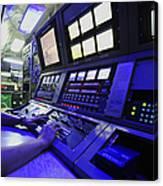 Internal Communications Electrician Canvas Print
