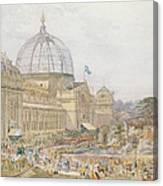 International Exhibition Canvas Print