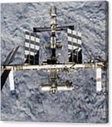 International Space Station Canvas Print