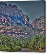 Into Boynton Canyon Canvas Print