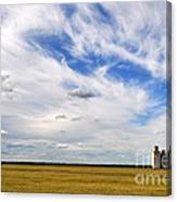 Into The Wide Open Canvas Print