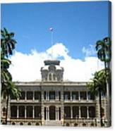 Iolani Palace - No. 003 Canvas Print