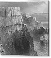 Ireland: Cliffs, C1840 Canvas Print