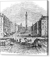 Ireland: Dublin, 1843 Canvas Print