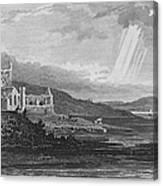 Ireland: Dunbrody Abbey Canvas Print
