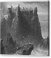 Ireland: Dunluce Castle Canvas Print