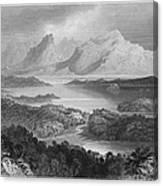 Ireland: Garromin Lake Canvas Print