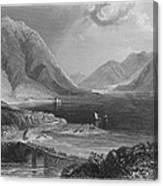 Ireland: Leenane, C1840 Canvas Print