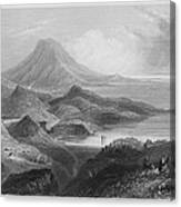 Ireland: Lough Conn, C1840 Canvas Print