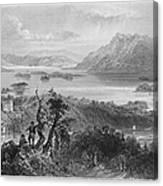 Ireland: Lough Gill, C1840 Canvas Print