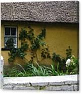 Irish Cottage Canvas Print