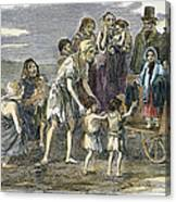 Irish Great Potato Famine Canvas Print