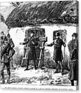 Irish Land League, 1887 Canvas Print