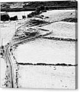 Irish Winding Road Canvas Print
