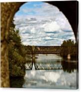 Iron Bridge Centenial Trail Canvas Print