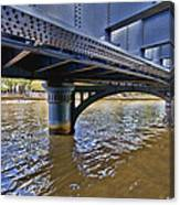 Iron Bridge Canvas Print