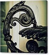 Iron Details Canvas Print
