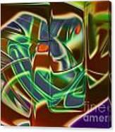 Iron Mask Canvas Print