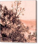Iron Mountain Canvas Print