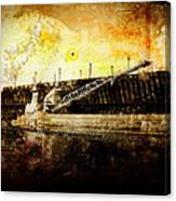 Iron Ore Freighter Canvas Print