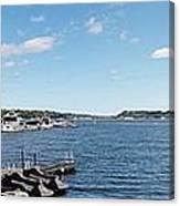 Irondequoit Bay Panorama Canvas Print