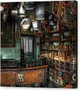Ironmonger's Shop Canvas Print