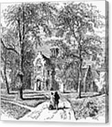 Irving: Sunnyside Canvas Print