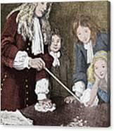 Isaac Newton, English Polymath Canvas Print