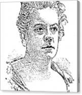 Isabel Florence Hapgood Canvas Print