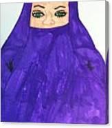 Isalm Woman Canvas Print