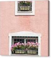 Ischia Windows Canvas Print