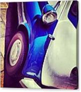 Isetta On The Square Canvas Print
