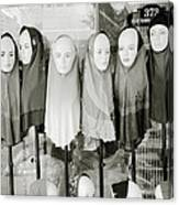Islamic Mannequins Canvas Print